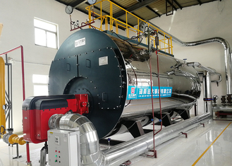 2 Ton Gas Steam Boiler High Efficiency For Carbonated Beverage Production Line
