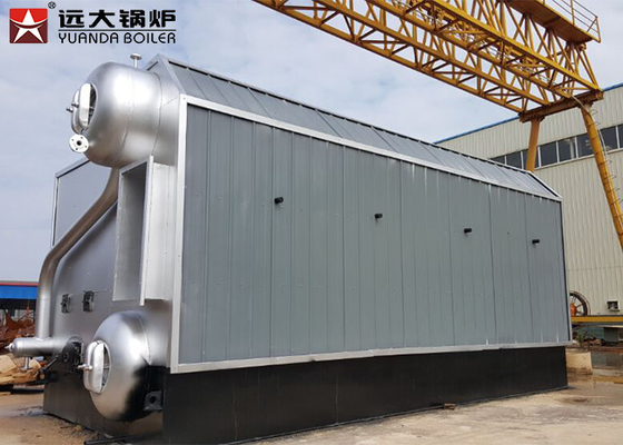 1000kg Wood Fired Steam Boiler Strong Fuel Adaptability For Chemical Industries