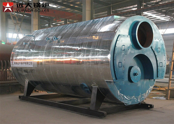 Low Pressure Heavy Oil Steam Boiler System 4000kg/H Capacity In Paper Machine